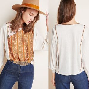 ANTHROPOLOGIE Sammi Sequined Top